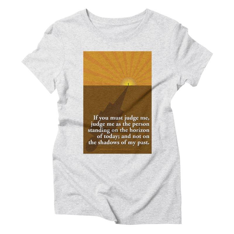 Imposing Shadow Women's Triblend T-Shirt by Pigment Studios Merch