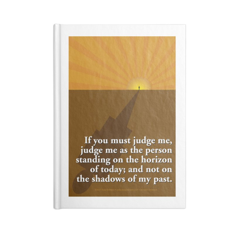 Imposing Shadow Accessories Lined Journal Notebook by Pigment Studios Merch