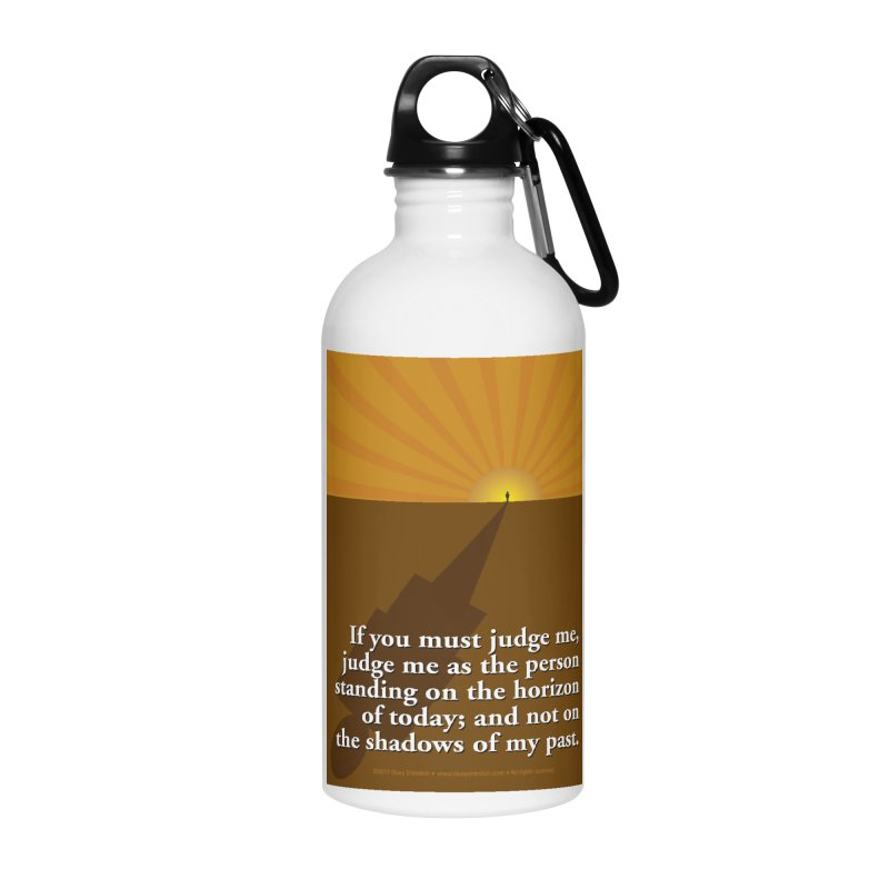 Imposing Shadow Accessories Water Bottle by Pigment Studios Merch