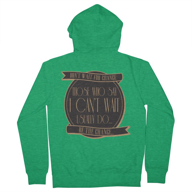 Those Who Say I Can't Wait... Women's Zip-Up Hoody by Pigment Studios Merch