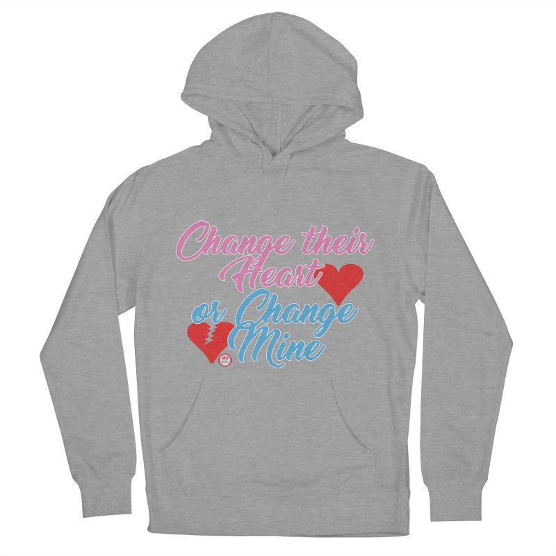Change Her Heart... Men's French Terry Pullover Hoody by Pigment Studios Merch