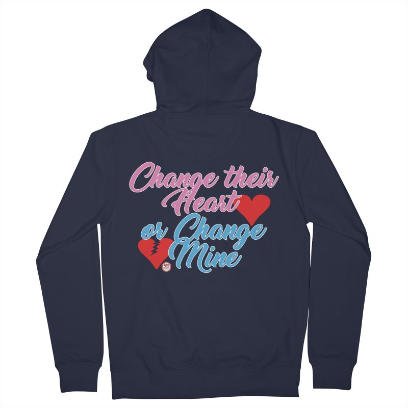Change Her Heart... Men's French Terry Zip-Up Hoody by Pigment Studios Merch
