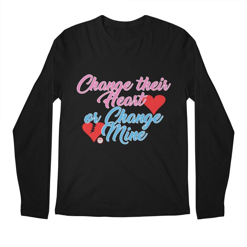 Change Her Heart... Men's Regular Longsleeve T-Shirt by Pigment Studios Merch