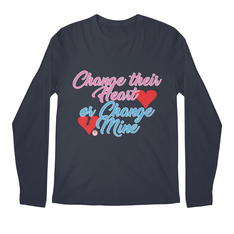 Change Her Heart... Men's Regular Longsleeve T-Shirt by Pigment Studios Merch