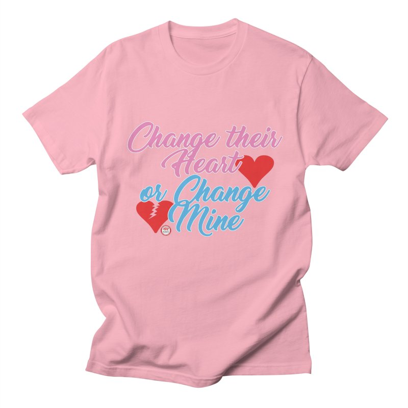 Change Her Heart... Men's T-Shirt by Pigment Studios Merch
