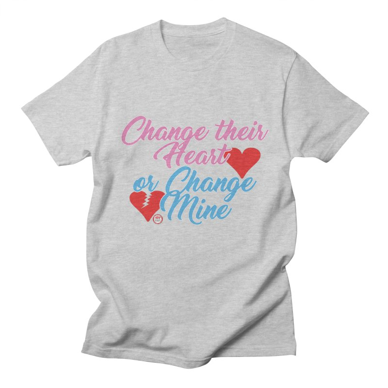 Change Her Heart... Men's Regular T-Shirt by Pigment Studios Merch