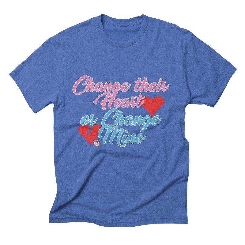 Change Her Heart... Men's Triblend T-Shirt by Pigment Studios Merch