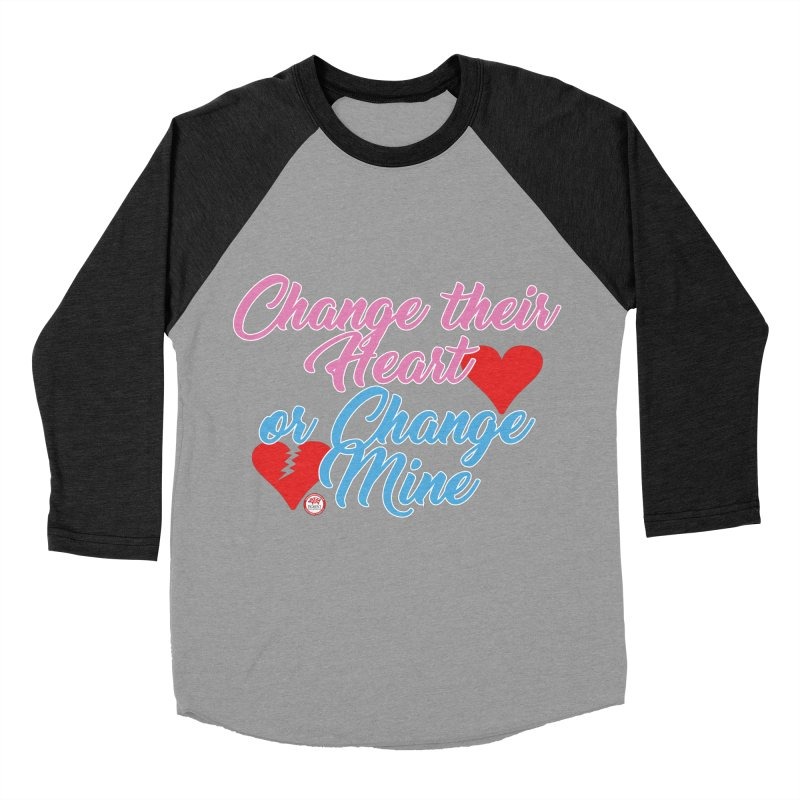Change Her Heart... Women's Baseball Triblend Longsleeve T-Shirt by Pigment Studios Merch