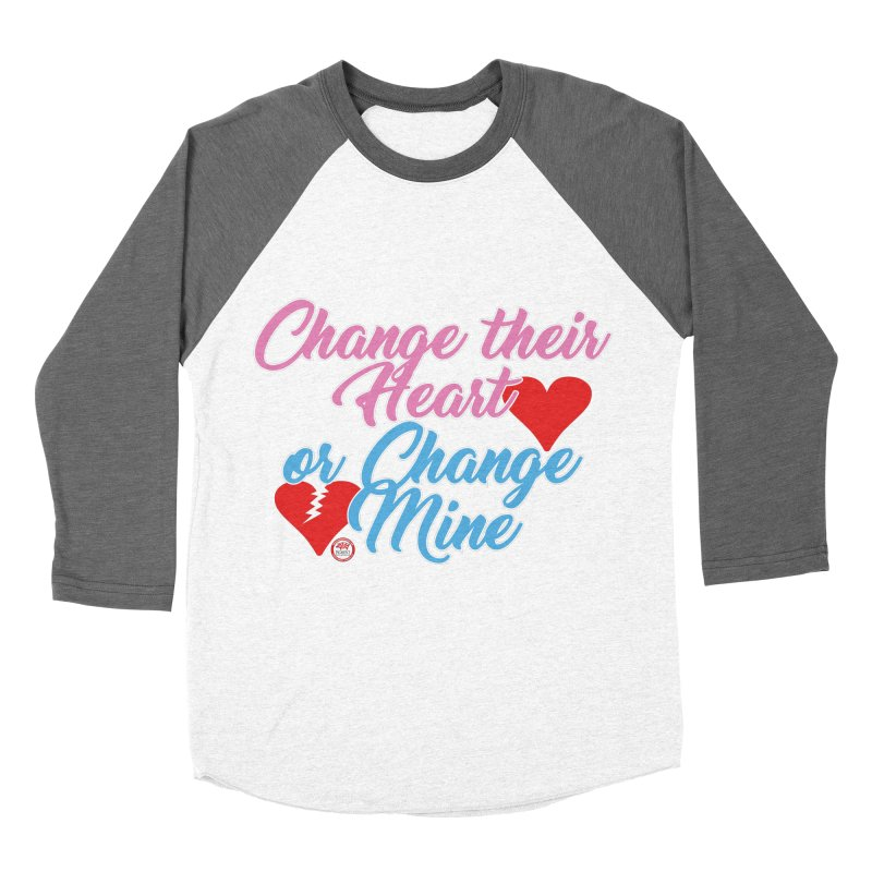 Change Her Heart... Men's Baseball Triblend Longsleeve T-Shirt by Pigment Studios Merch