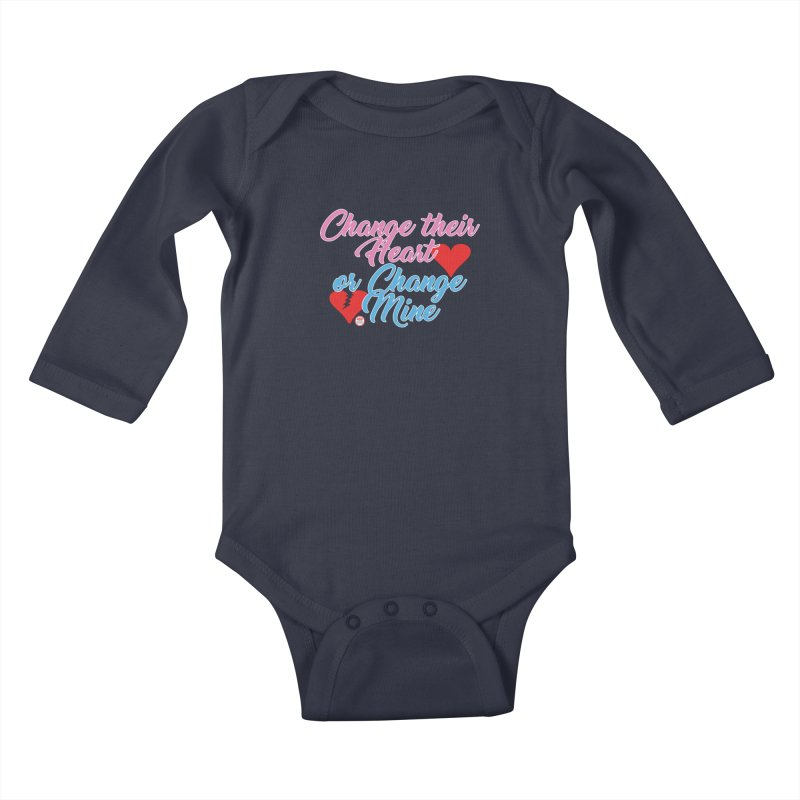 Change Her Heart... Kids Baby Longsleeve Bodysuit by Pigment Studios Merch