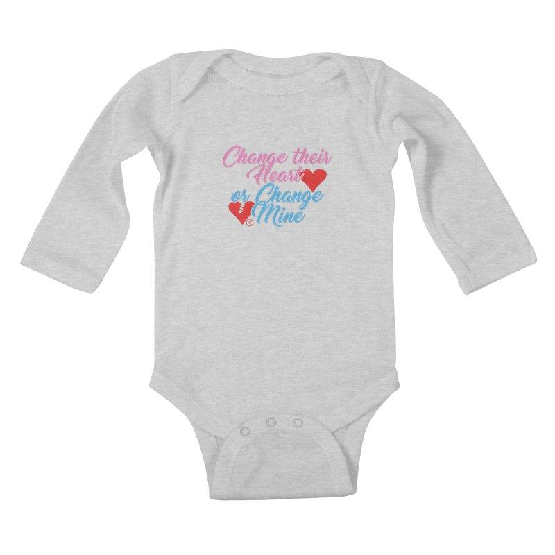 Change Her Heart... Kids Baby Longsleeve Bodysuit by Pigment Studios Merch