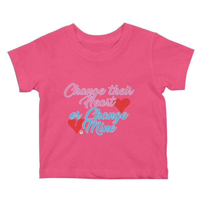 Change Her Heart... Kids Baby T-Shirt by Pigment Studios Merch