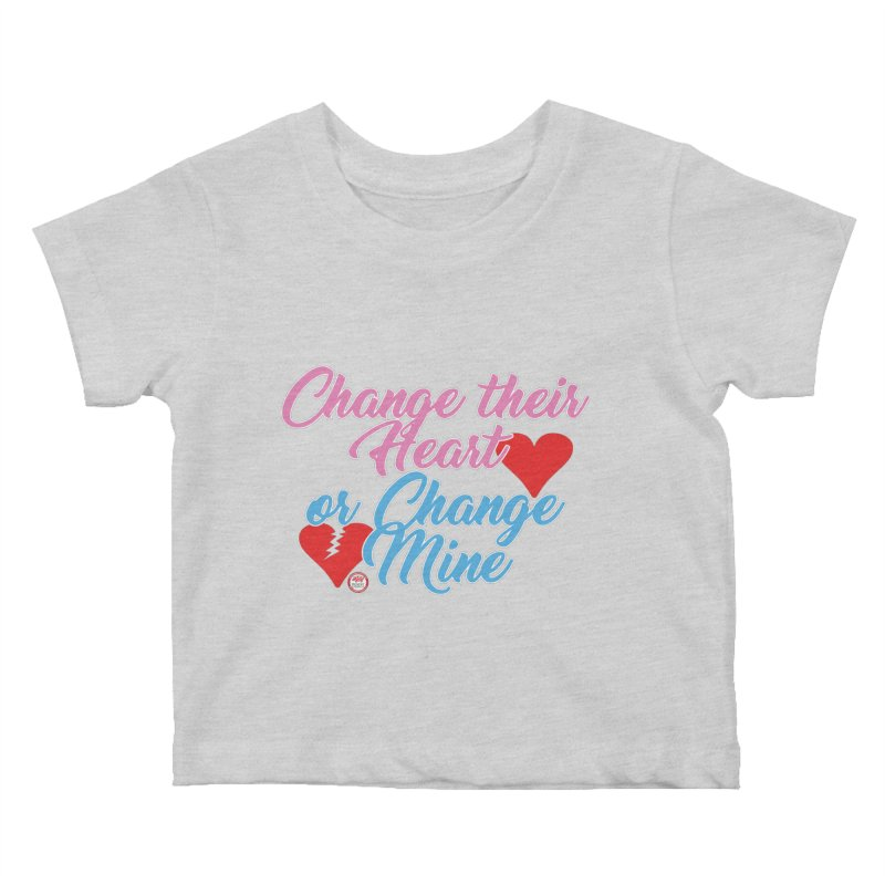 Change Her Heart... Kids Baby T-Shirt by Pigment Studios Merch