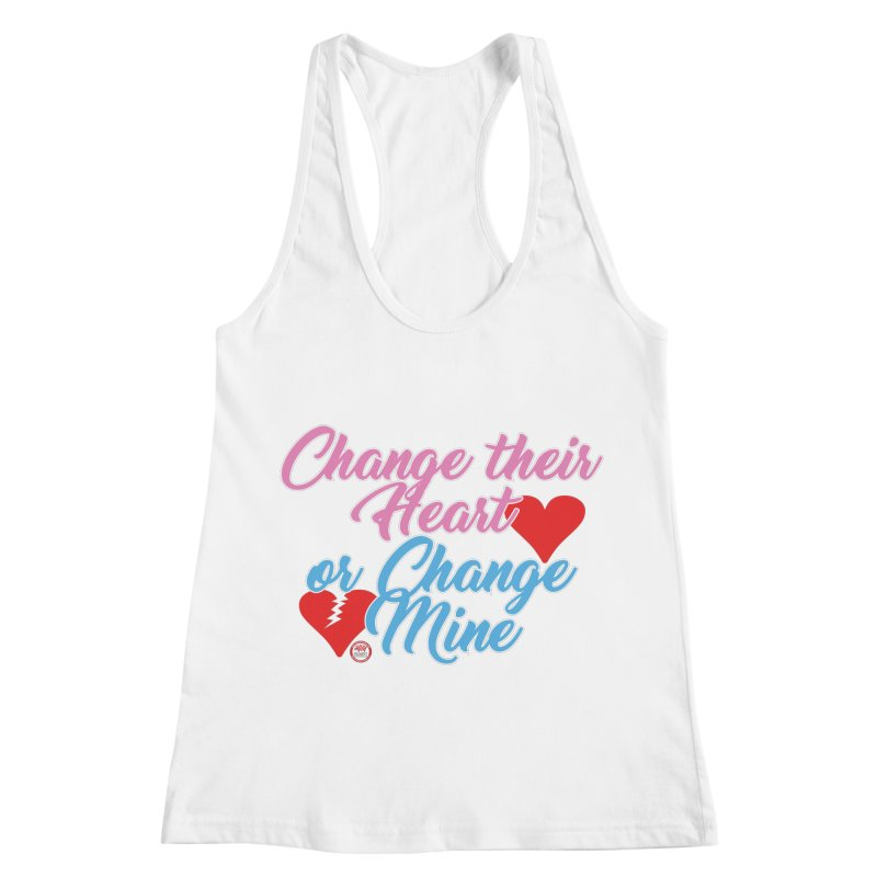 Change Her Heart... Women's Racerback Tank by Pigment Studios Merch