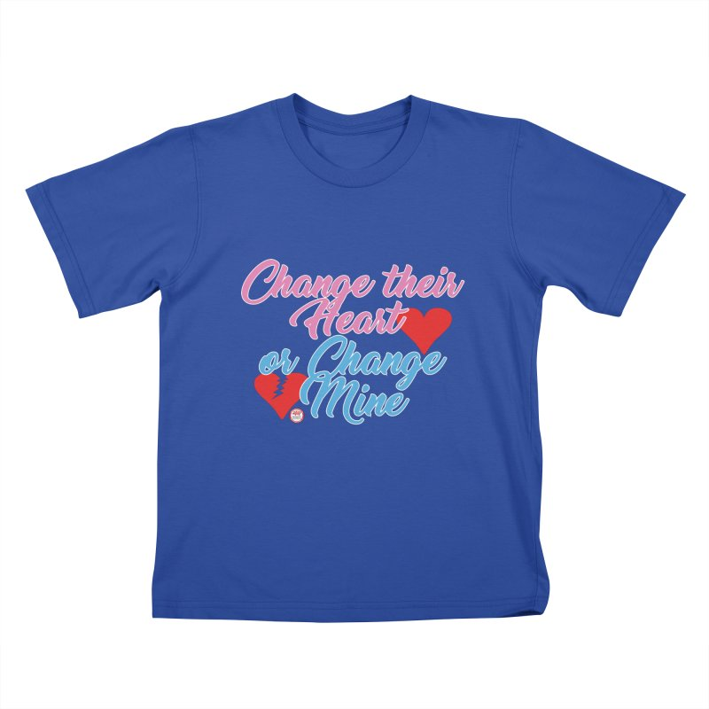 Change Her Heart... Kids T-Shirt by Pigment Studios Merch