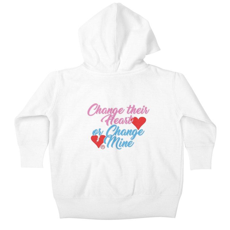 Change Her Heart... Kids Baby Zip-Up Hoody by Pigment Studios Merch