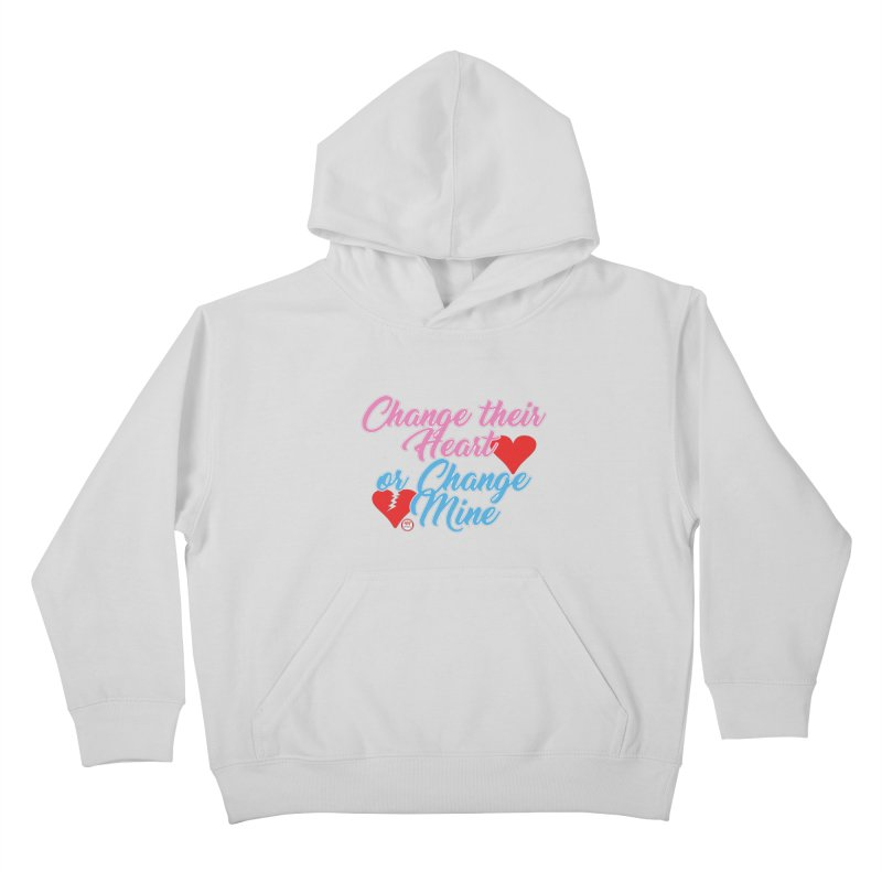 Change Her Heart... Kids Pullover Hoody by Pigment Studios Merch