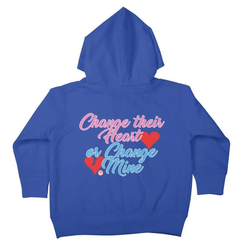 Change Her Heart... Kids Toddler Zip-Up Hoody by Pigment Studios Merch