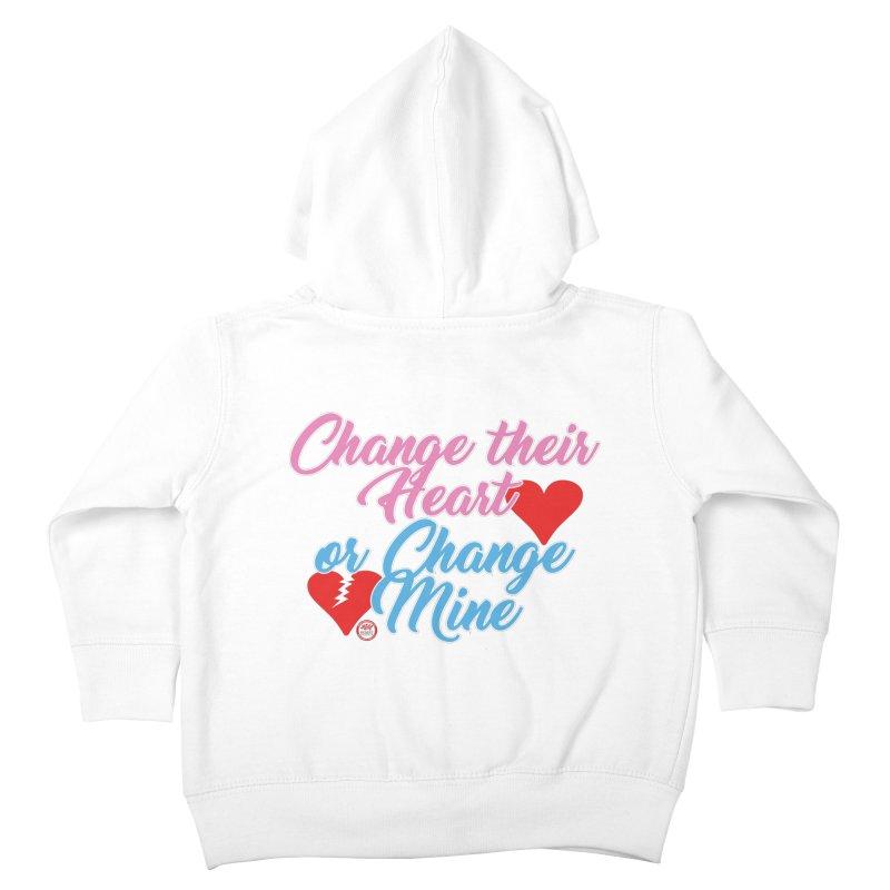 Change Her Heart... Kids Toddler Zip-Up Hoody by Pigment Studios Merch