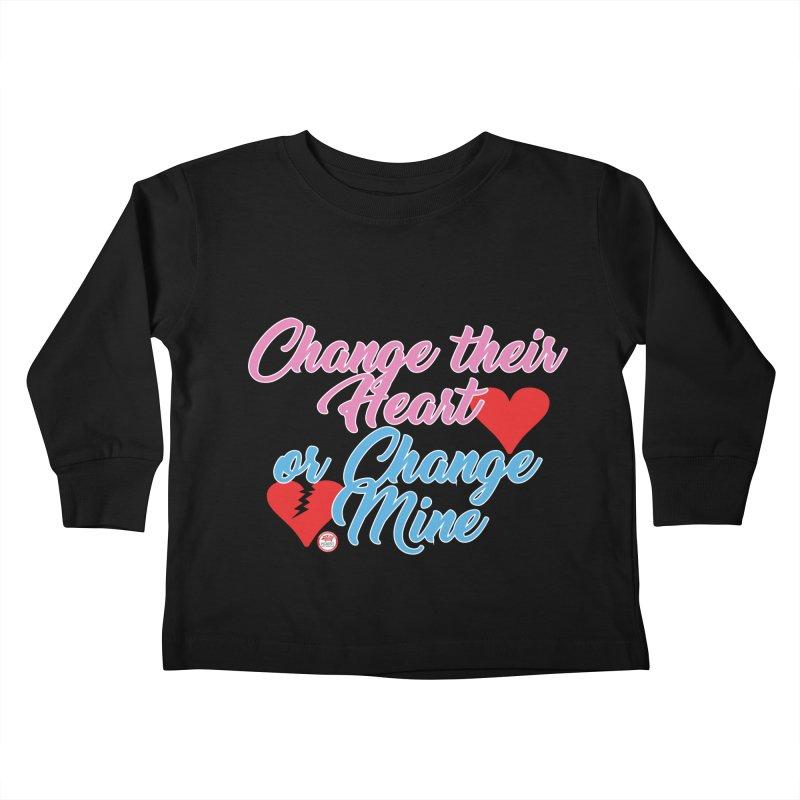 Change Her Heart... Kids Toddler Longsleeve T-Shirt by Pigment Studios Merch