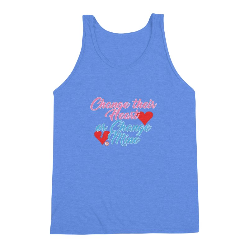 Change Her Heart... Men's Triblend Tank by Pigment Studios Merch