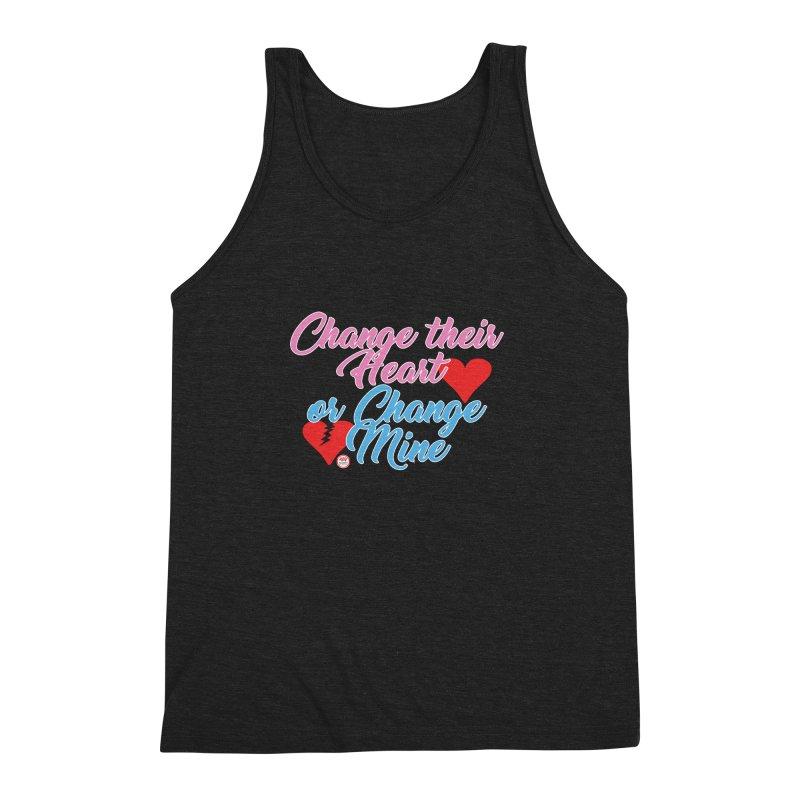Change Her Heart... Men's Triblend Tank by Pigment Studios Merch