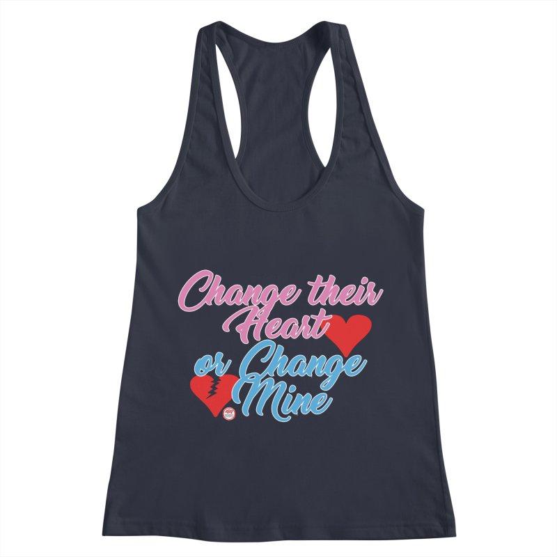 Change Her Heart... Women's Racerback Tank by Pigment Studios Merch