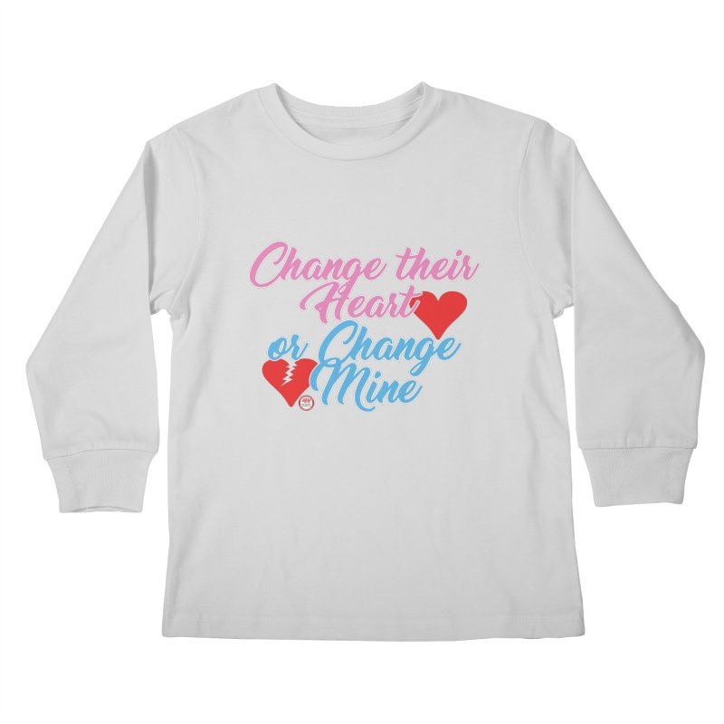 Change Her Heart... Kids Longsleeve T-Shirt by Pigment Studios Merch