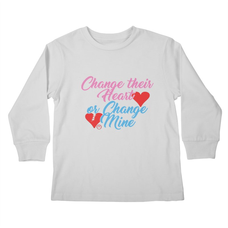 Change Her Heart... Kids Longsleeve T-Shirt by Pigment Studios Merch