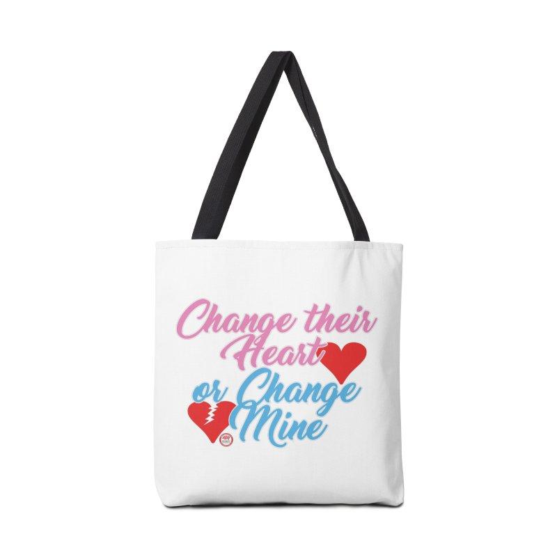 Change Her Heart... Accessories Bag by Pigment Studios Merch