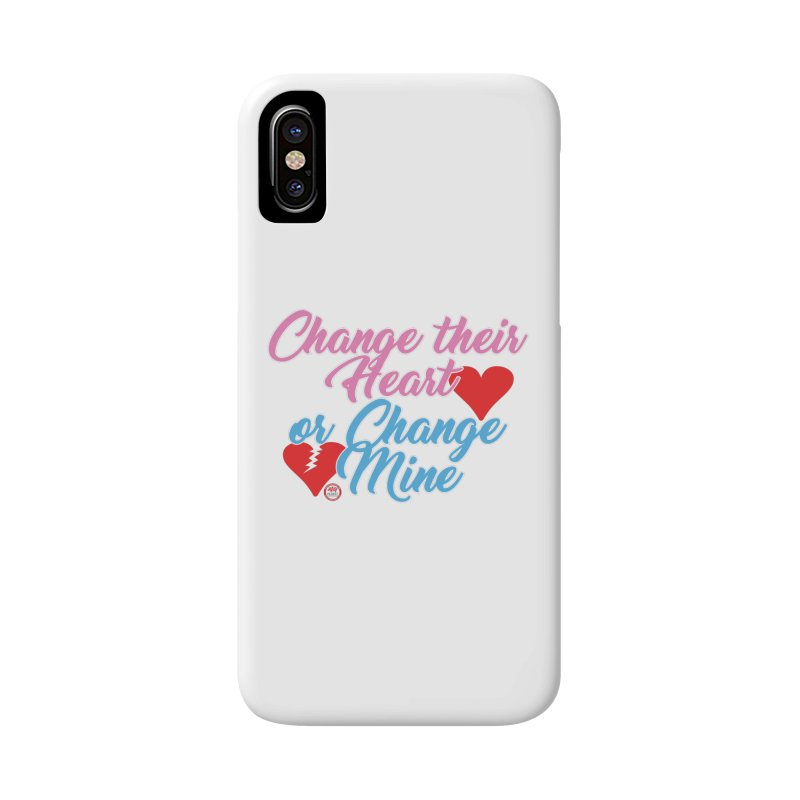 Change Her Heart... Accessories Phone Case by Pigment Studios Merch