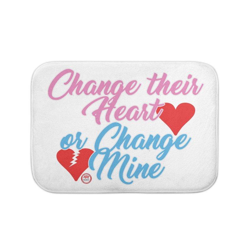 Change Her Heart... Home Bath Mat by Pigment Studios Merch