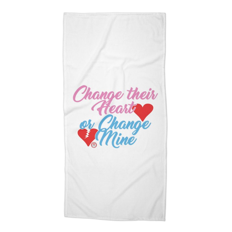 Change Her Heart... Accessories Beach Towel by Pigment Studios Merch