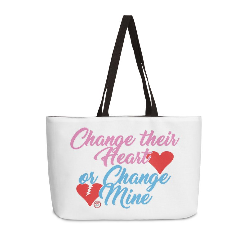Change Her Heart... Accessories Weekender Bag Bag by Pigment Studios Merch