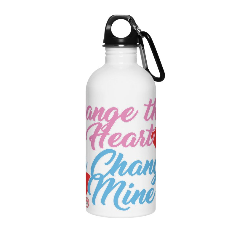 Change Her Heart... Accessories Water Bottle by Pigment Studios Merch