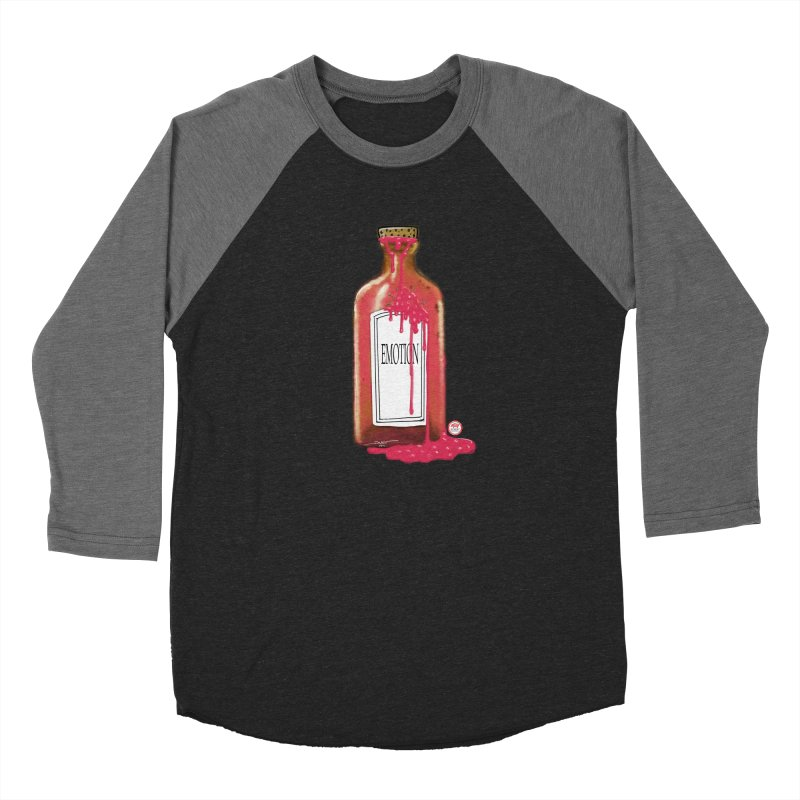 Bottled Emotion Women's Baseball Triblend Longsleeve T-Shirt by Pigment Studios Merch