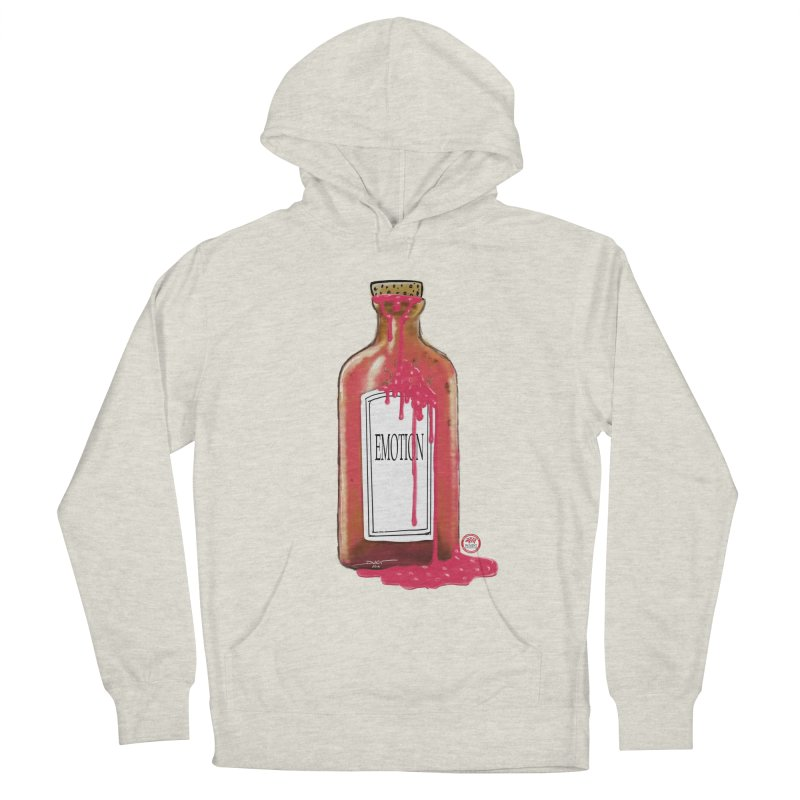 Bottled Emotion Women's French Terry Pullover Hoody by Pigment Studios Merch