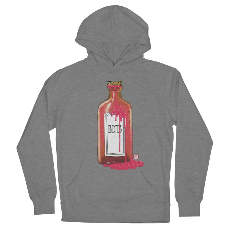 Bottled Emotion Men's French Terry Pullover Hoody by Pigment Studios Merch