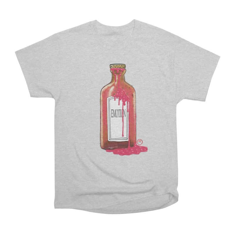 Bottled Emotion Women's Heavyweight Unisex T-Shirt by Pigment Studios Merch
