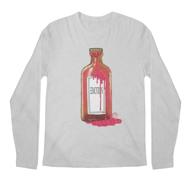 Bottled Emotion Men's Regular Longsleeve T-Shirt by Pigment Studios Merch