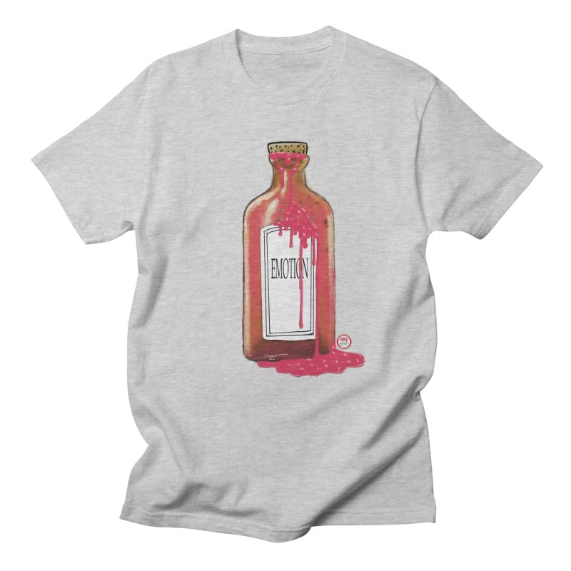 Bottled Emotion Women's Regular Unisex T-Shirt by Pigment Studios Merch