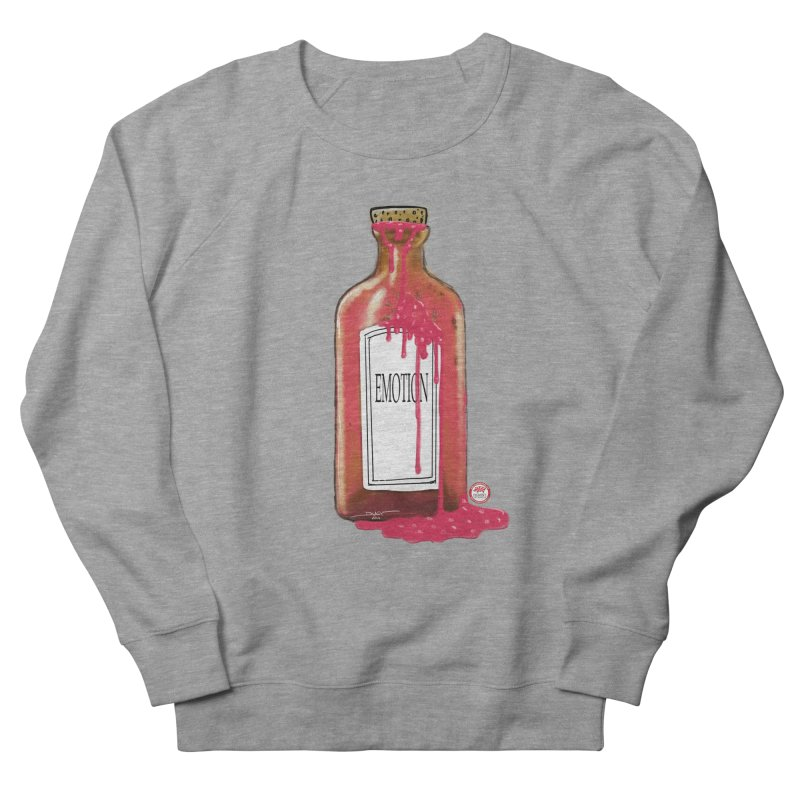 Bottled Emotion Women's French Terry Sweatshirt by Pigment Studios Merch