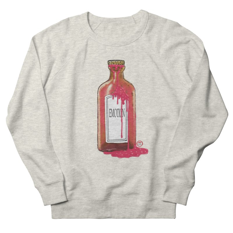 Bottled Emotion Men's French Terry Sweatshirt by Pigment Studios Merch