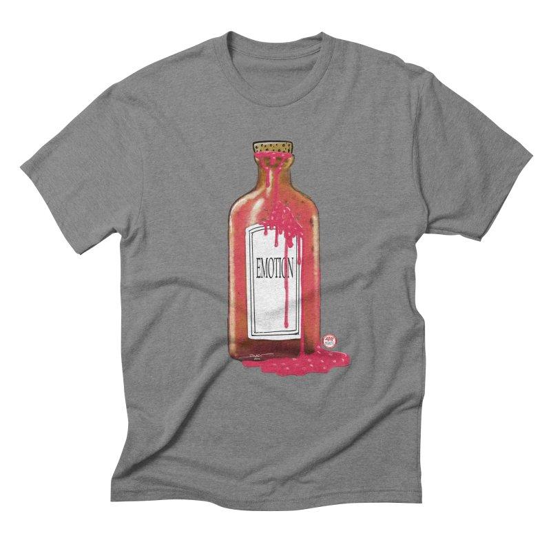 Bottled Emotion Men's Triblend T-Shirt by Pigment Studios Merch