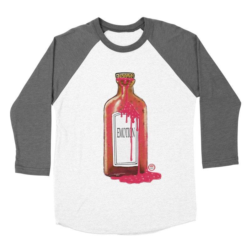 Bottled Emotion Women's Baseball Triblend Longsleeve T-Shirt by Pigment Studios Merch