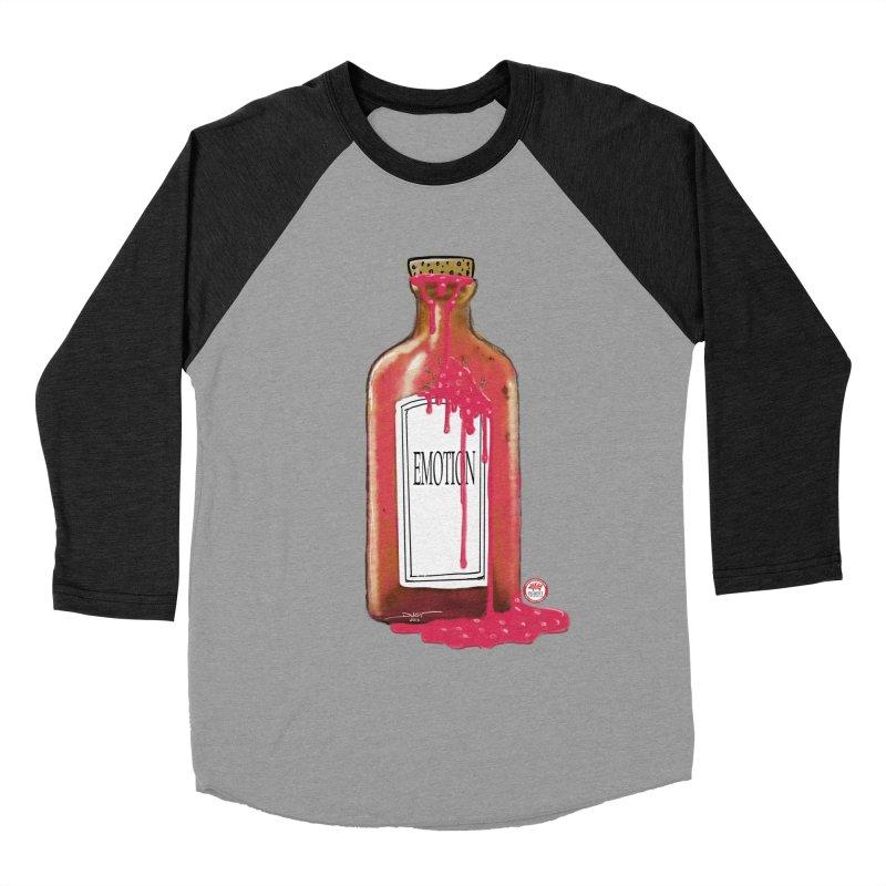 Bottled Emotion Men's Baseball Triblend Longsleeve T-Shirt by Pigment Studios Merch