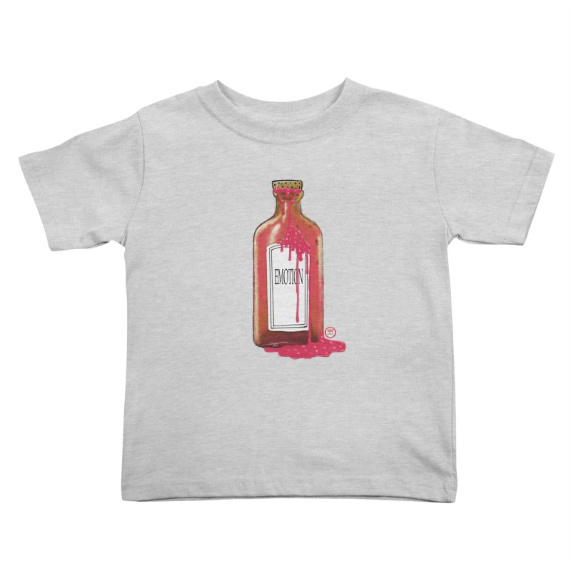Bottled Emotion Kids Toddler T-Shirt by Pigment Studios Merch