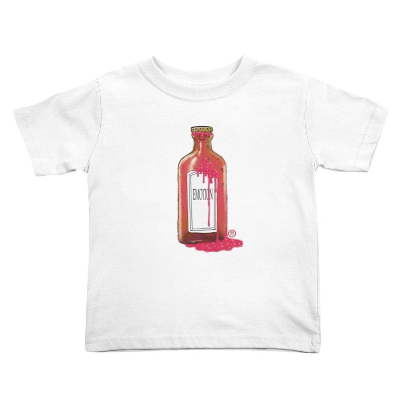 Bottled Emotion Kids Toddler T-Shirt by Pigment Studios Merch