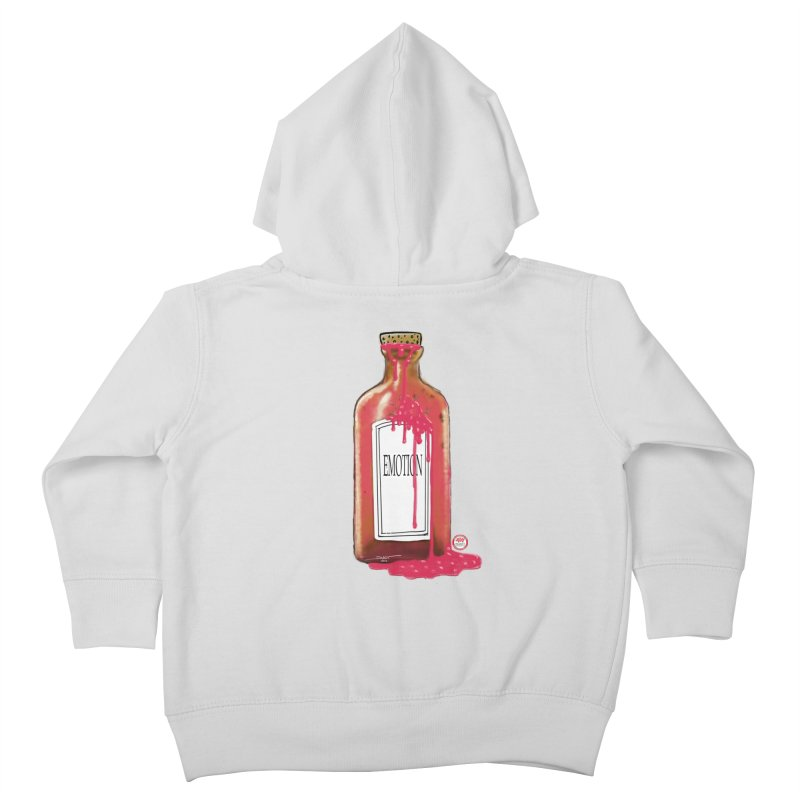 Bottled Emotion Kids Toddler Zip-Up Hoody by Pigment Studios Merch