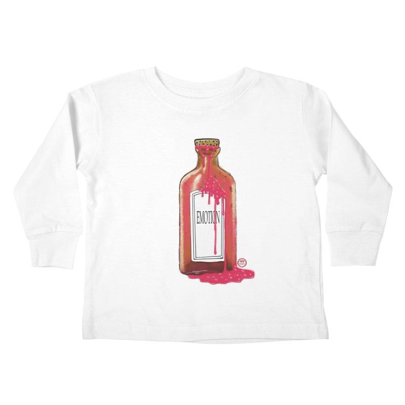 Bottled Emotion Kids Toddler Longsleeve T-Shirt by Pigment Studios Merch